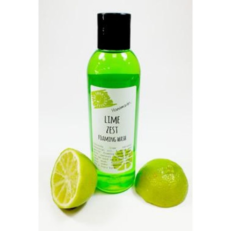 Lime Zest Foaming Wash 200ml